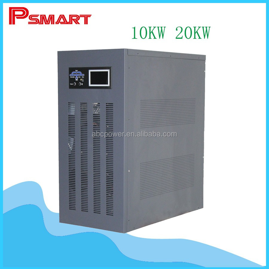 220v single phase dc to ac pure sine wave 10kw 20kw inverter pure sine wave inverter charger 20000 watt inverter