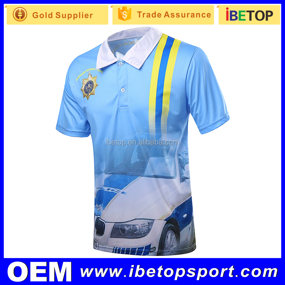 Sublimation Wholesale Custom embroided polo shirts Logo golf shirts dri fit polo