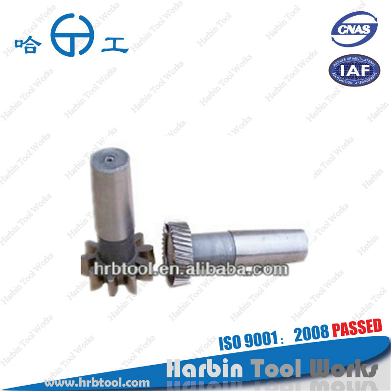 P.D.38mm, M1-3.75, Taper shank type gear shaper cutter. ISO9001