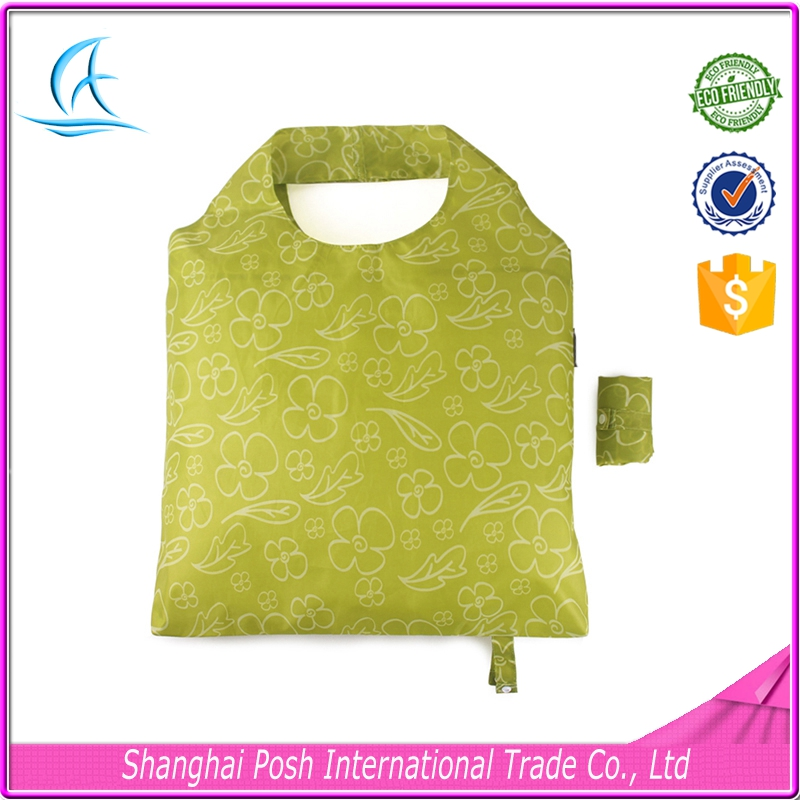 Reusable Polyester Luxury Shopping Bags Printing With Logos