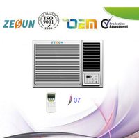 High EER Energy Saving Solar Powered 220-240V/50HZ R410A Window Type Air Conditioner