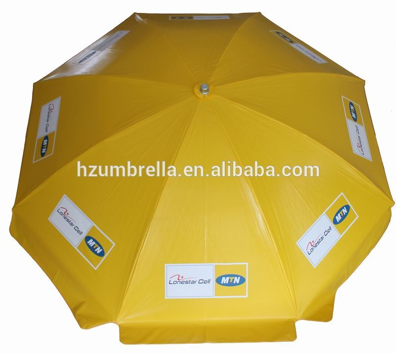 125cmX8panels PVC parasol with water base,beach umbrella with base
