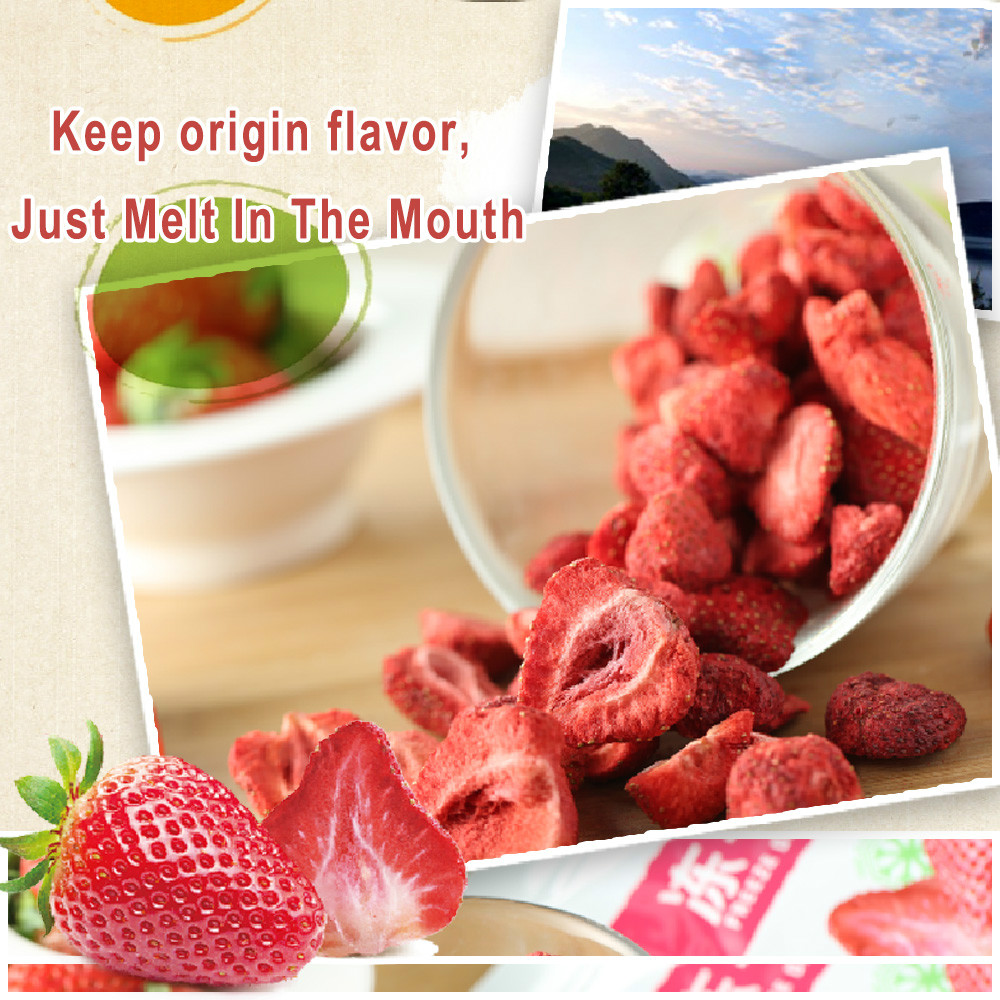 Freeze-Dried Strawberry Slice