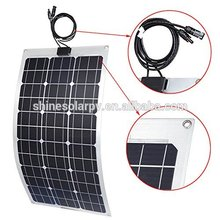 China Factory Offer thin solar panel 80w folding stock mono flexble solar panel