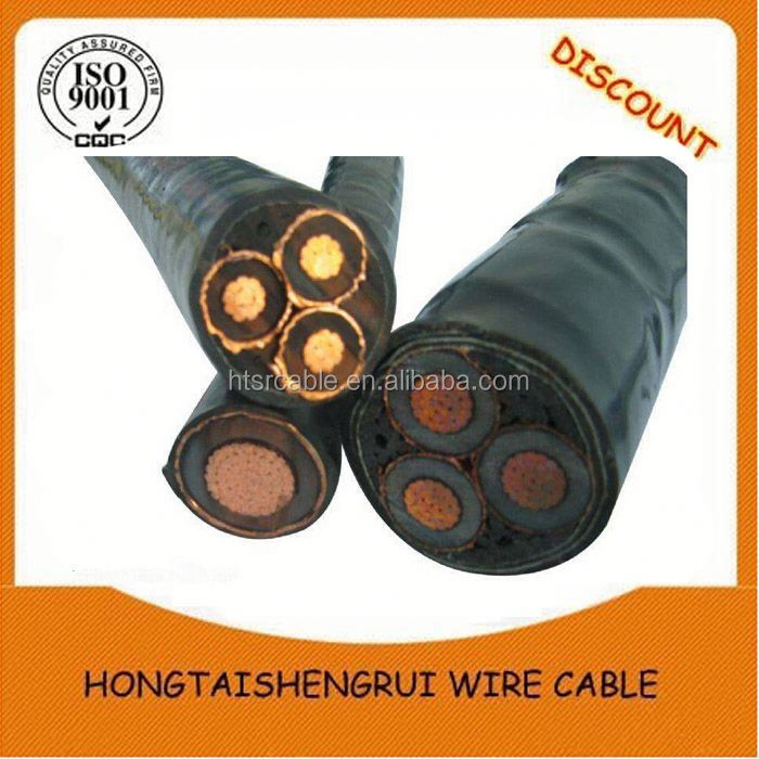 Copper conductor used in construction fire resistant power cable