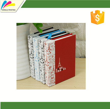 Hardcover Combine Notepad Memo Pad Stationery Diary Notebook with Pen
