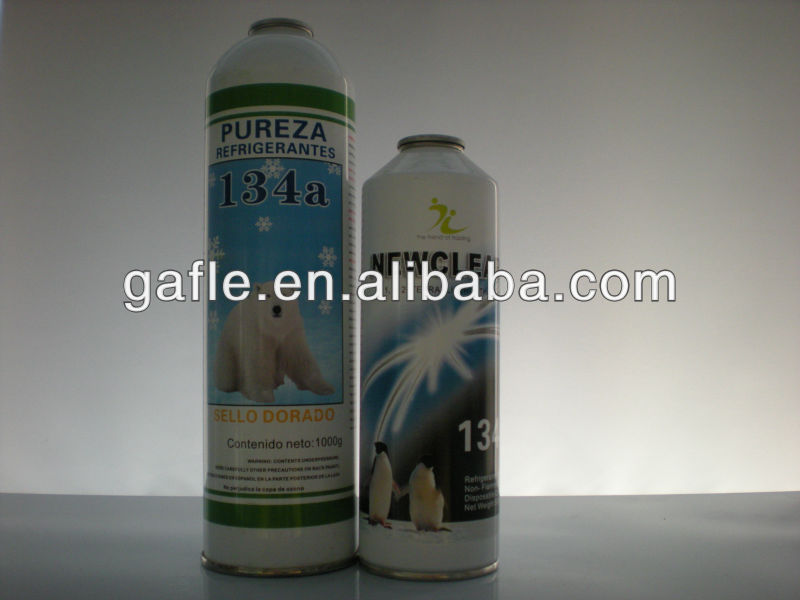 mixed refrigerant gas r134a