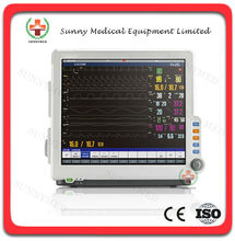 SY-C008 Touch screen 17 inch Medical Modular monitor central monitoring system