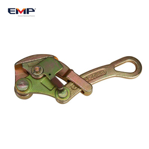 Zinc Carbon Steel Cable Tightener / Wire Rope Clamp / Tightener For Pulling Wire Grip