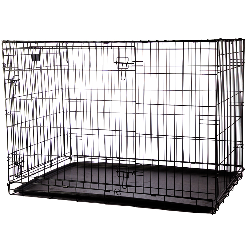 Wholesale cheapest price different type large steel dog cage with wheels