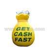 Good quality inflatable money bag inflatable replica F1079