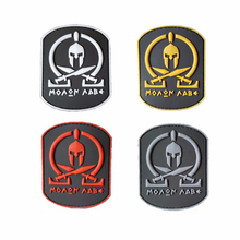 Custom 3D PVC Patch Tactical Morale Rubber Logo Badge Patches