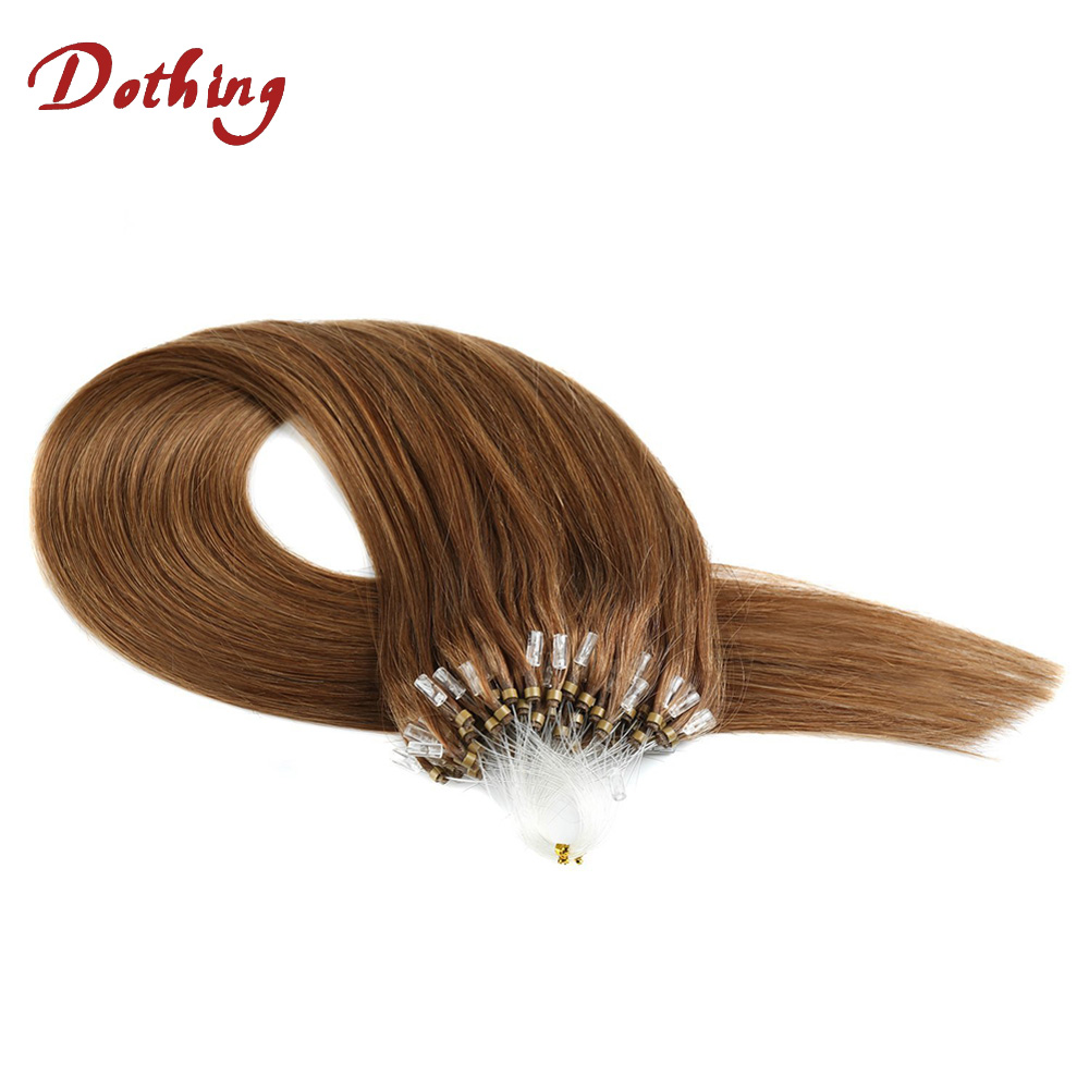 Hot Selling Best Quality Unprocessed Virgin Micro Ring Skin Weft Remy Brazilian Micro Links Hair Extensions For Black Women