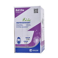 R410a refrigerant price with 25lb/11.3kg