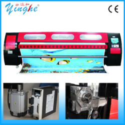 3.2m indoor and outdoor high speed 1440dpi digital belt textile printer
