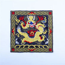 Top quality beautiful embroidery patch dragon