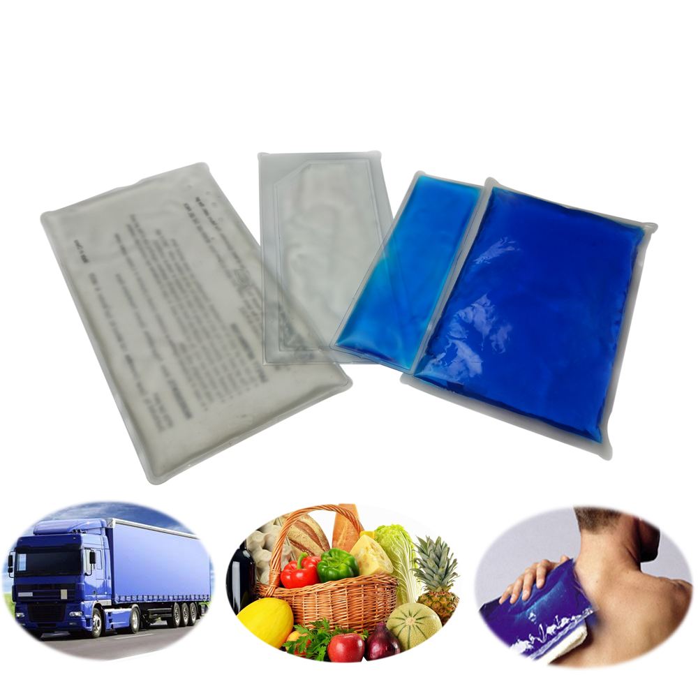 Cooling gel cold packs for food