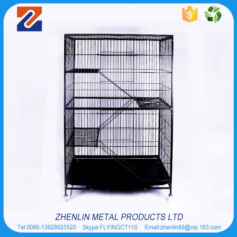 2016 Brand new luxury stainless steel cat cage for sale cheap