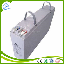 Front Terminal Type 12V 100AH Slim Gel Deep Cycle Solar Batteries (FL12-100)