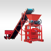 semi-automatic small concrete 6 inches hollow block making machine