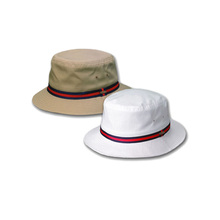 Plain safari fresh white bucket hat