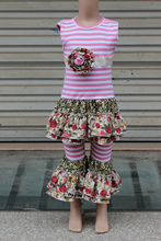 Latest Wholesale Children Outfit Set Girls Summer Boutique Clothes