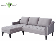 Modern furniture Italian style lazy sofa, sectional sofa set, L-shaped corner sofa
