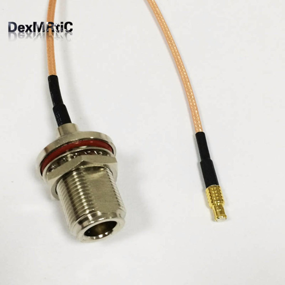RP TNC female bulkhead to TS9 male straight connector cable RG178 15cm 6 NEW Good Quality Fast USA Shipping