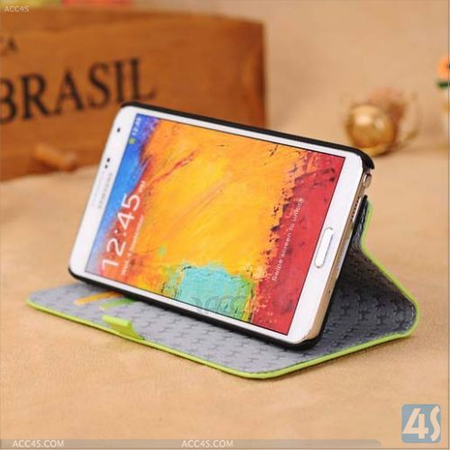 Real Leather Cases Mobile Phone for Samsung Galaxy Note 3 P-SAMN9000CASE041