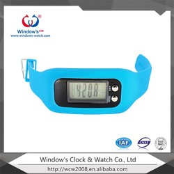 silicone strap Calories Pedometer health monitor watch