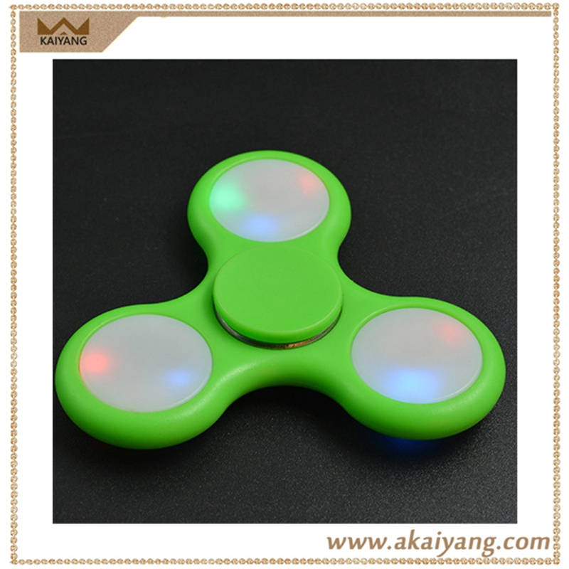 New Finger Led Flash Spinning Top Toys Flashing Hand Spinner