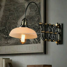 best selling vintage portable swing arm wall lamp AIW09