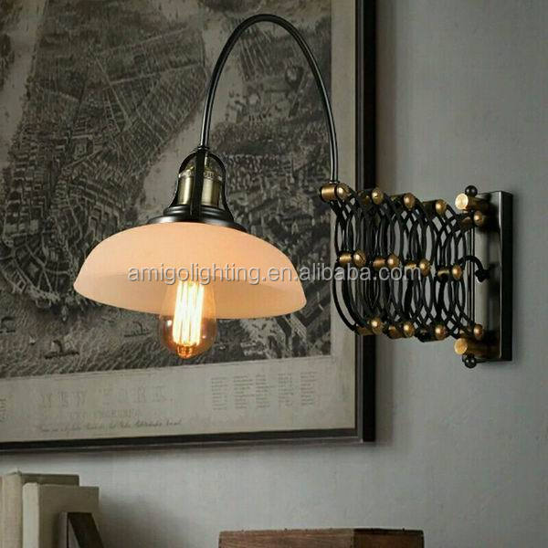 popular vintage swing arm wall lamp lights AIW09
