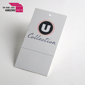 colorful Plastic tag with clothes