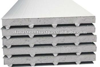 EPS Polystrene insulated sandwich panels - UAE/INDIA/QATAR/AFRICA - DANA STEEL