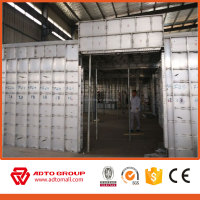 ADTO group supplier T6061 Cost-Effective Reusable poured concrete wall forms for sale