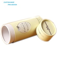 New on promotion high quality perfume paper cylinder packaging box