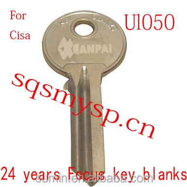 F389 For Steel Iron Blank House keys Ul050 Blank Manufacture