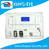 APP on smartphone anti-theft home GSM alarm system with LCD display, 5 call/SMS alarm number included