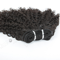 "wholesale brazilian virgin hair 12"" curly human wefts"