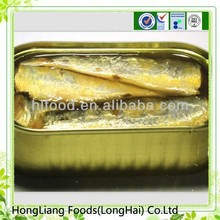 Famous china food fresh canned jack mackerel
