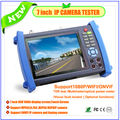 Multifunction 7 inch touch screen IP camera tester with digital multimeter