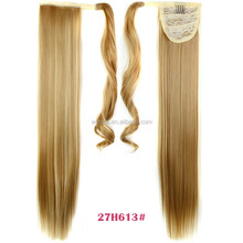 2015 Elegant Hair Accessories , Synthetic Silk Straight Single Side Band Ponytail
