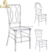 stackable transparent clear acrylic tiffany chair resin chiavari chair napoleon chair for wedding