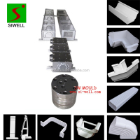 110mm plastic pvc rainwater gutter profile extrusion mould/die tool