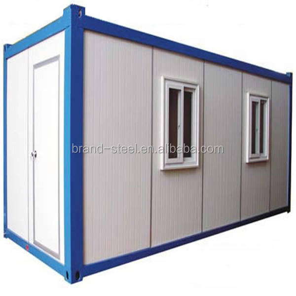 perfect modified container house used for living accommodation