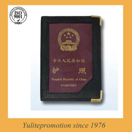 2013 Simplest and cheap leather Passport Holder