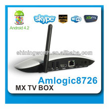 1G RAM 8G ROM external wifi antenna Android 4.2 dual core tv box