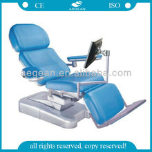 2014 new product AG-XD107 Electric Surgical multifunction chair blood drawing needles