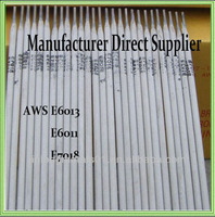 ISO approved mild steel/ carbon steel electrodes AWS E6013 Titania type
